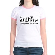 VIZSLA Evolution - Jr. Ringer T-Shirt