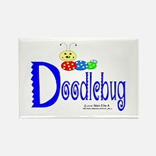 Doodlebug Rectangle Magnet