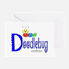 Doodlebug Greeting Cards (Pk of 10)