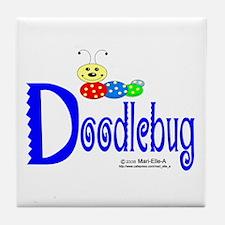 Doodlebug Tile Coaster
