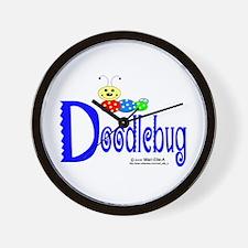 Doodlebug Wall Clock