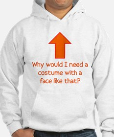 Why Would I Need a Costume? Hoodie