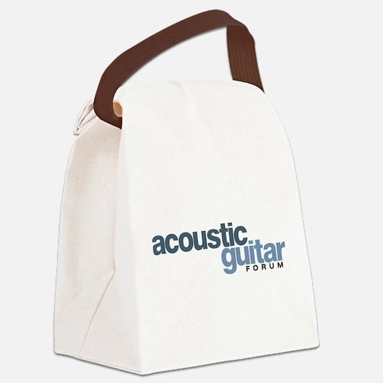 Cute Acoustic Canvas Lunch Bag