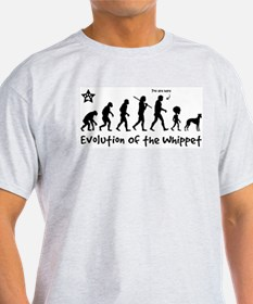 Obey the WHIPPET - Evolution Grey T-Shirt