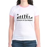 WHIPPET Evolution - Jr. Ringer T-Shirt