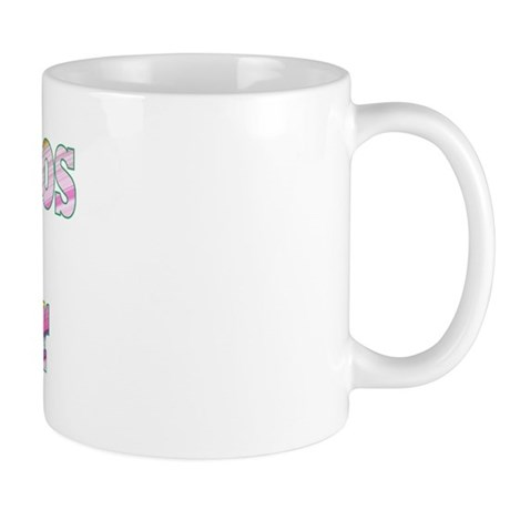TENNIS PROS Swing - DiagPastelStripe Small Mug