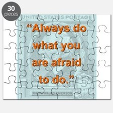 Always Do What You Are Afraid To Do - RW Emerson P
