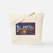 Birmingham Alabama Greetings Tote Bag