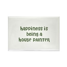 Happiness is being a HOUSE PA Rectangle Magnet
