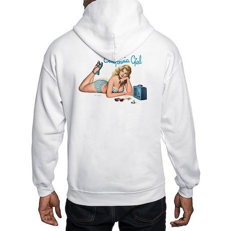 California Girl Hooded Sweatshirt