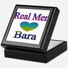 RealMenLoveBara2 Keepsake Box