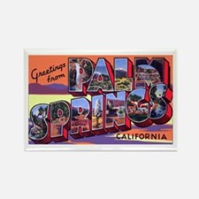 Palm Springs California Greetings Rectangle Magnet