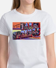 Palm Springs California Greetings (Front) Tee