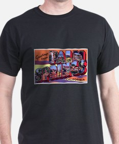 Palm Springs California Greetings (Front) T-Shirt