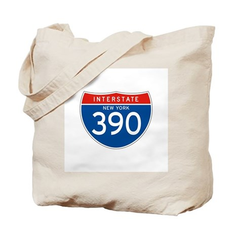 Interstate 390 - NY Tote Bag