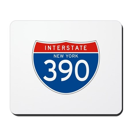 Interstate 390 - NY Mousepad