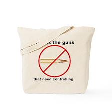 Bullet Control Tote Bag