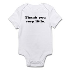 Thank you very little Infant Bodysuit