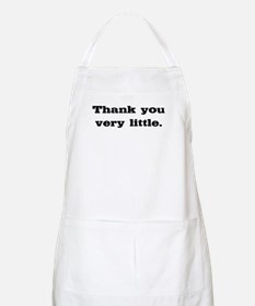 Thank you very little BBQ Apron