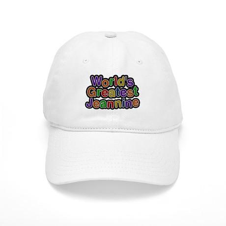 Worlds Greatest Jeannine Baseball Cap