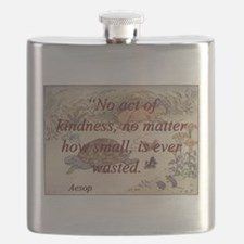 No Act Of Kindness - Aesop Flask