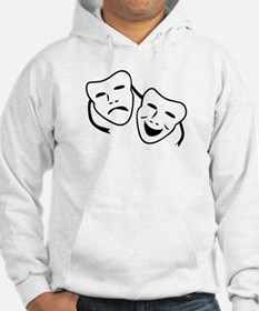 Comedy & Tragedy Mask Hoodie