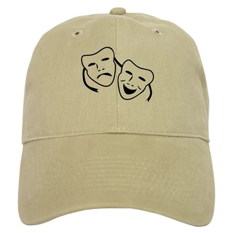 Comedy & Tragedy Mask Cap