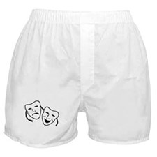 Comedy & Tragedy Mask Boxer Shorts