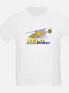 Helo-Driver Kids T-Shirt
