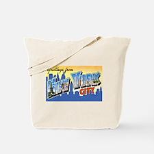 New York City Greetings Tote Bag