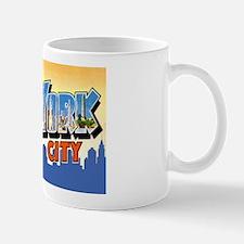 New York City Greetings Mug