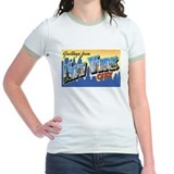 New york greetings Jr. Ringer T-Shirt
