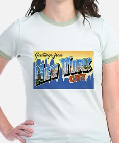 New York City Greetings (Front) T