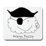 Warm Fuzzy Pirate Mousepad