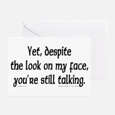 You're Still Talking Greeting Cards (Pk of 10)