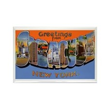 Syracuse New York Greetings Rectangle Magnet