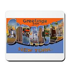 Syracuse New York Greetings Mousepad