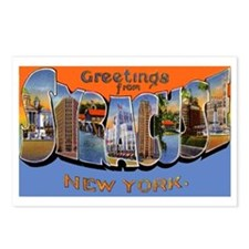 Syracuse New York Greetings Postcards (Package of