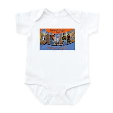Syracuse New York Greetings Infant Bodysuit