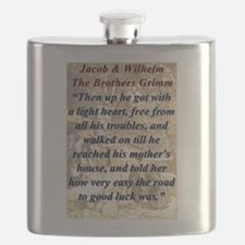Then Up He Got - Grimm Flask