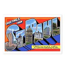 St Paul Minnesota Greetings Postcards (Package of