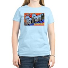 St Paul Minnesota Greetings Women's Pink T-Shirt