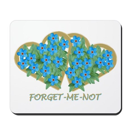 Forget-me-not - Mousepad