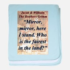 Mirror Mirror Here I Stand - Grimm baby blanket