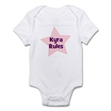Kyra Rules Infant Bodysuit
