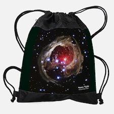 MayHubbleCalendar.jpg Drawstring Bag