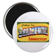Stamford Connecticut Greetings Magnet
