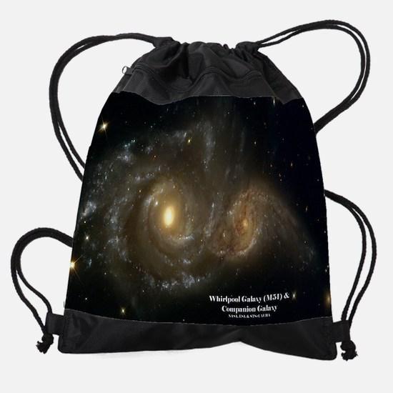 DecemberHubbleCalendar.jpg Drawstring Bag