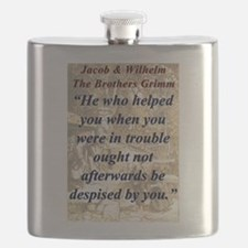 He Who Helped You - Grimm Flask