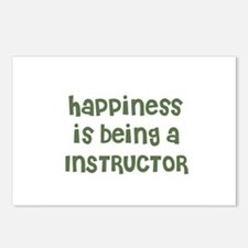 Happiness is being a INSTRUCT Postcards (Package o